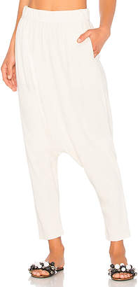Raquel Allegra Cropped Slouchy Pant