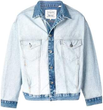Levi's Made & Crafted two-tone denim jacket