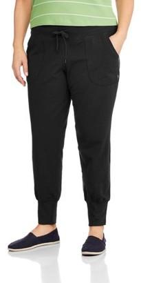 Danskin Women's Plus Size Jogger Pant