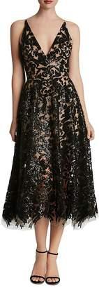 Dress the Population Blair Sequin Lace Dress