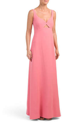 Cut Out Triangle Gown