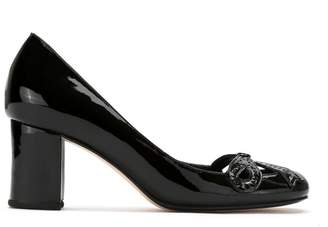 Sarah Chofakian patent leather pumps