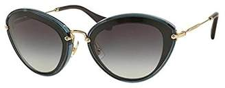 Miu Miu MU51RS 1AB5D1 52mm Sunglasses - Size: 52-26-140 - Color: Black