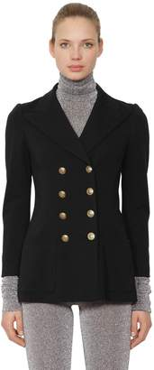 Philosophy di Lorenzo Serafini Double Breasted Jersey Jacket
