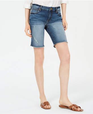 KUT from the Kloth Sophie Denim Bermuda Shorts
