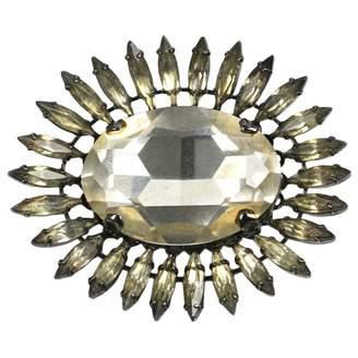 Erickson Beamon Gold Crystal Pins & brooches