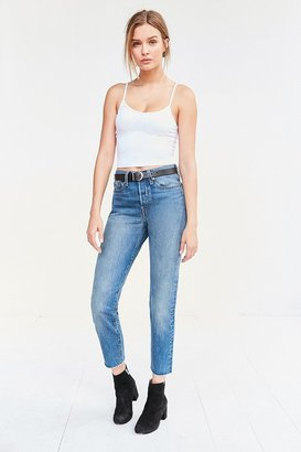 Levi's Levi's Wedgie High-Rise Jean - Coyote Desert $88 thestylecure.com