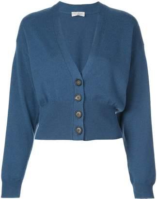 Brunello Cucinelli cashmere fitted cardigan