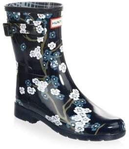 Hunter Floral Rubber Rain Boots