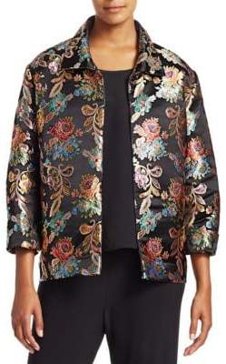 Caroline Rose Floral Embroidered Party Jacket