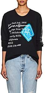 "Barneys New York WOMEN'S ""THEDROPLA"" COTTON OVERSIZED T-SHIRT"
