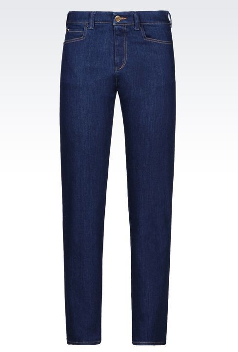 Armani JeansJ16 Regular Fit Dark Wash Jeans