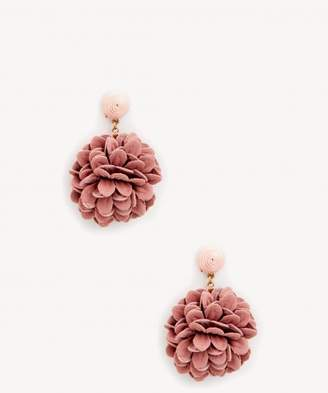 Sole Society Womens Tango Statement Tassel Earrings Mauve One Size From Sole Society