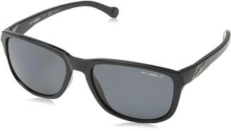 Arnette Sunglasses 4214 Straight Cut 41/81 Black Grey Polarized
