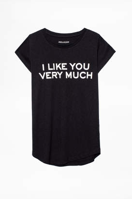 Zadig & Voltaire Skinny Bis T-Shirt