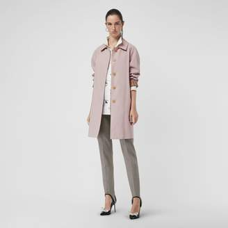 Burberry The Camden Car Coat , Size: 06, Pink