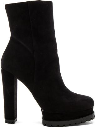Alice + Olivia Holden PlatformSheep Fur Lined Boot $475 thestylecure.com