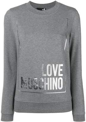 Love Moschino logo sweatshirt