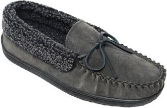 Minnetonka Men's Allen Cupsole Charcoal Slippers