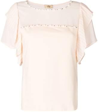Liu Jo pearl embellished T-shirt