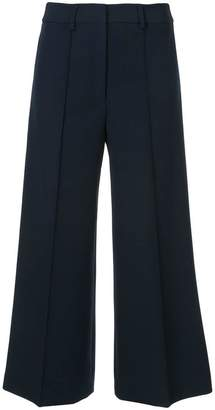Milly wide leg cropped trousers