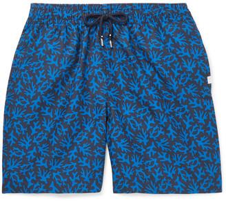 Derek Rose Maui Wide-Leg Mid-Length Printed Swim Shorts