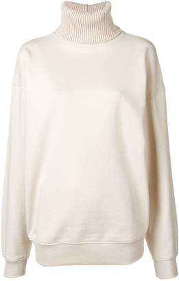 Helmut Lang roll neck sweatshirt