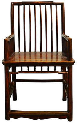 One Kings Lane Vintage 19th-C. Chinese Chair - FEA Home