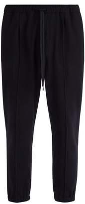 Barena Venezia - Scaleter Virgin Wool Blend Track Pants - Mens - Navy