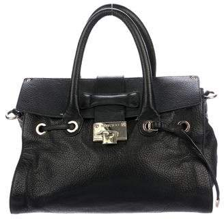 Jimmy Choo Large Rosalie Leather Satchel