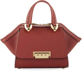 Zac Posen Eartha Mini Leather Double-Handle Satchel Bag
