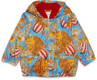 Baby circus print nylon jacket $640 thestylecure.com