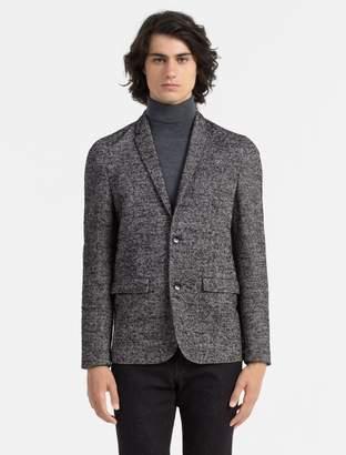Calvin Klein slim fit herringbone blazer