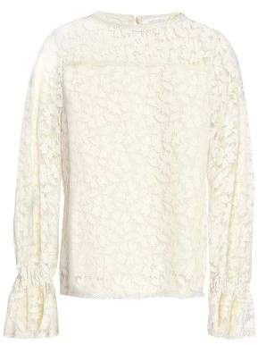 See by Chloe Cotton-Blend Lace Top