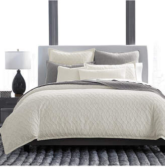 Hotel Collection Interlock Cotton King Duvet