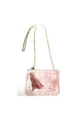 Private Label Velvet Crossbody