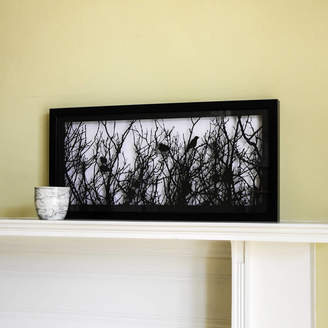 For Me & For You Designs Framed Papercut Picture Of Birds Nesting