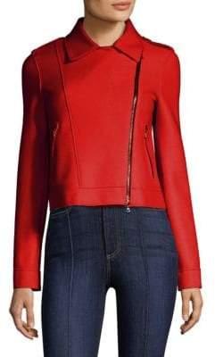 Wool Biker Jacket