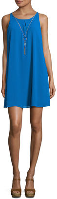 BY AND BY by&by Sleeveless A-Line Dress-Juniors $60 thestylecure.com