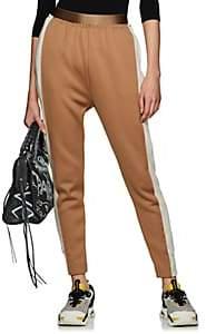 Undercover Women's Reflective-Trimmed Hybrid Jogger Pants - Beige, Tan