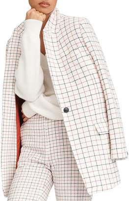 Rag & Bone Nova Wool-Blend Windowpane Plaid Blazer