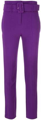 Theory belted high waist trousers