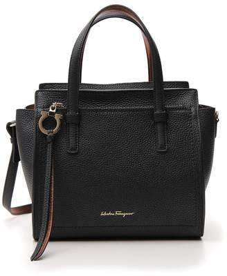 Salvatore Ferragamo Double Handle Shoulder Bag
