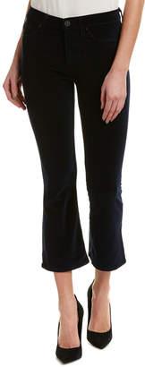 Hudson Jeans Jeans Brix Navy Velvet High-Rise Cropped Bootcut