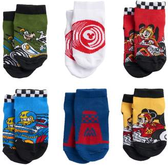 Disney Disney's Mickey Mouse Toddler Boy 6-pk. Low-Cut Socks