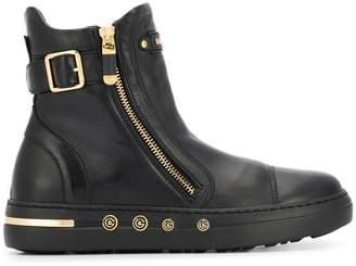 Baldinini buckled detail boots