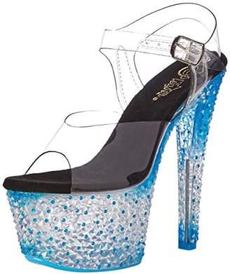 Pleaser USA Women's Cytl308ps/c/Nbl Platform Sandal
