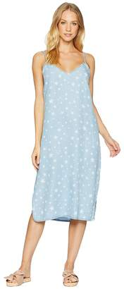 Splendid Star Denim Slip Dress Women's Dress