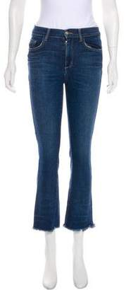 Siwy Mid-Rise Straight-Leg Jeans