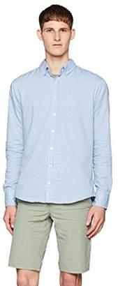 BOSS Casual Men's Mabsoot Shirt, (Bright Blue 431), X-Large